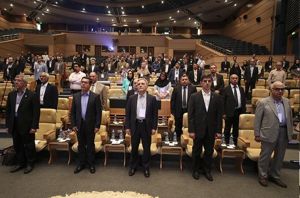 مراسم افتتاحیه نشست بین المللی خاورمیانه-اروپا در کیش