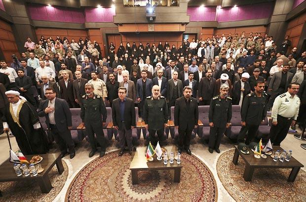 برگزاری سومین یادواره شهدای مدافع حرم بسیج دانشجویی در کیش