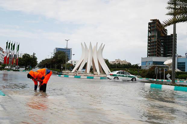 مرتفع شدن مشکل جمعآوری آبهای سطحی در جزیره زیبای کیش