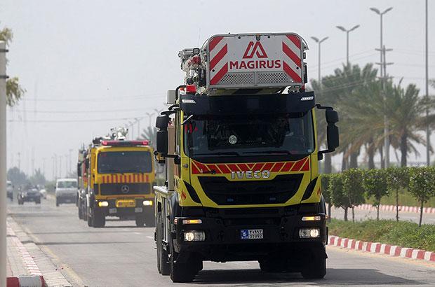 اسپیلیت ها اصلی ترین دلایل آتش سوزی در جزیره کیش