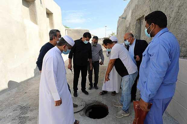 رفع مشکلات مناطق مسکونی سفین قدیم در دستور کار شرکت عمران کیش