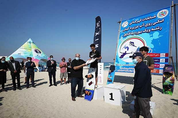 برگزاری مسابقات قهرمانی اسکی روی آب جزیره کیش