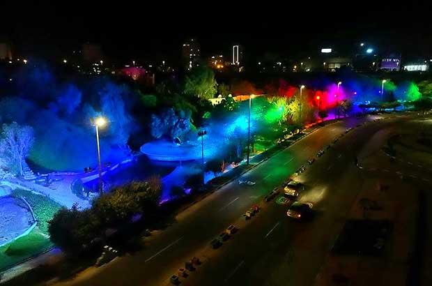 رونمایی از دهها پروژه زیباسازی جزیره زیبای کیش در استقبال از نوروز ۱۴۰۰