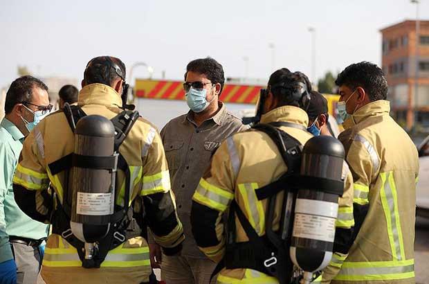 تجهیز آتش نشانان جزیره کیش به بهترین تجهیزات حفاظت فردی در ایران