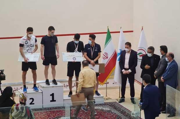 کیش قهرمان مسابقات بینالمللی حرفهای اسکواش شد