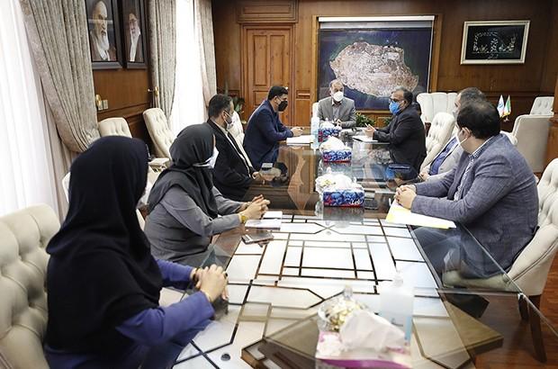 تاکید دکتر آهنگران بر تعامل سازنده و مثبت با شورای شهر کیش