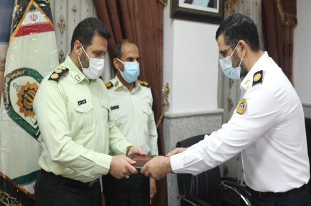 مهدی توانگر رئیس پلیس راهور  کیش شد